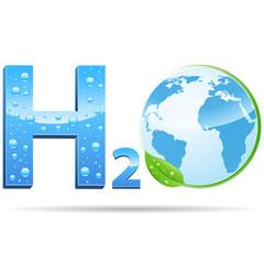 H2O - Logo