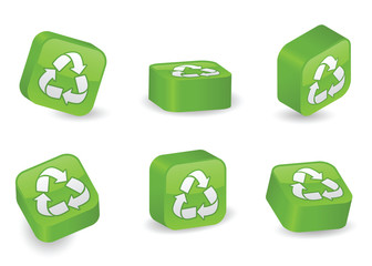 Three-Dimensional Recycling Blocks