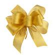 Elegante goldene Schleife