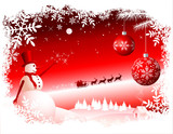 Fototapety Vector Christmas Background