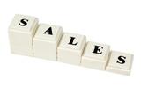 Decreasing Sales poster