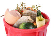 Compost, isolated