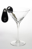 Martini Glass with Car Keys