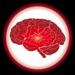 Icône de cerveau
