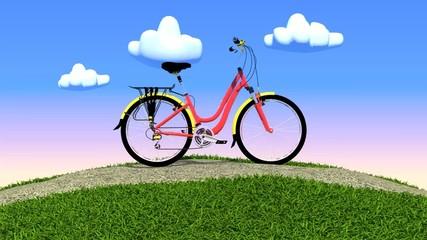 toon bicycle