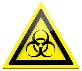 Warnung Biogefährdung (BGV A8 W 16) Biohazard