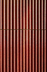 Abstract red steel backdrop