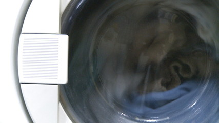 Washing machine working