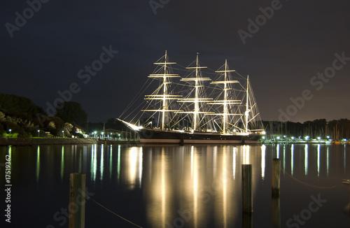 Leinwanddruck Bild Sailing ship