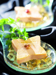medaillon foie gras