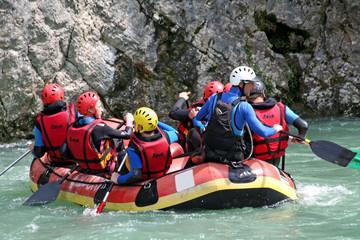 Raft en groupe