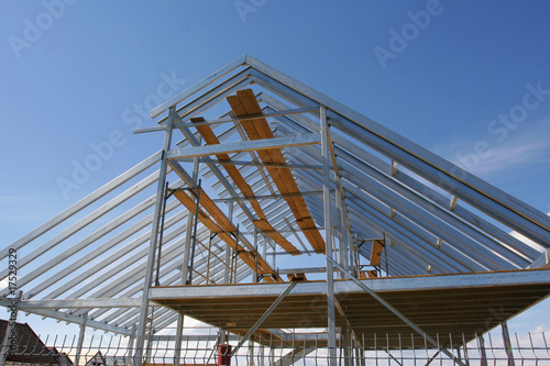 Metallic Frame House