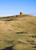 View over Warwickshire countryside at Burton Dassett poster