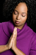 Black Woman Praying