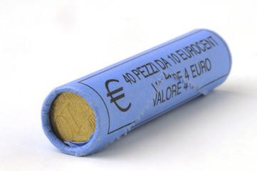 Ten euros in small change
