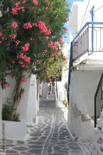 Ruelle à Paros - Cyclades - Grèce