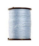 Pale blue thread poster