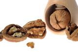 walnut inserted into nutcracker poster