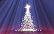 Weihnachtssterne blau