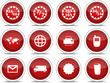 Red Icon Set 3