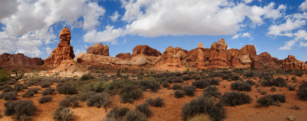 Moab, Utah, Arches National Park,