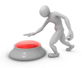 Apretando el Boton Rojo esquierda