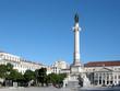 Marmorsäule in Lissabon