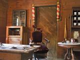Fototapety Old barbershop