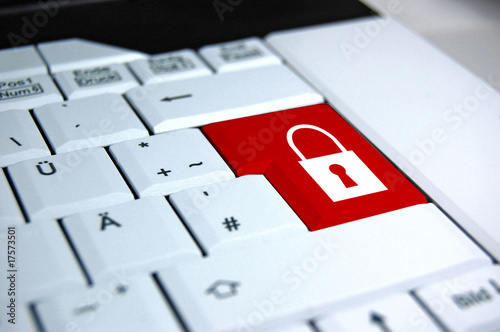 Computer Sicherheit mit Schloss