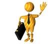 abstrait, businessman