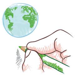 disegnare il mondo