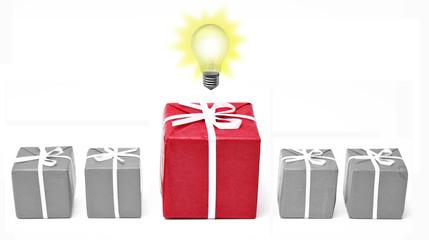 Weihnachten, Geschenke - Kontept Idee, Innovation