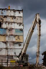 Pelle de démolition grande hauteur