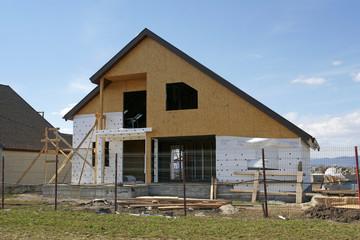 Metallic Frame House