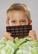 Sonrisa de chocolate.