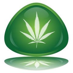 """Marijuana"" Button"