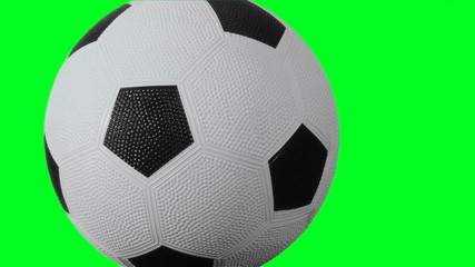 Soccer ball green screen - HD