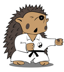 hedgehog fighter