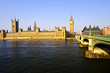Palace of Westminster and bridge