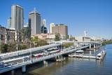 Brisbane Skyline from the Bridge, Australia, August 2009 poster