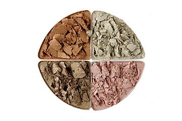 Maquillaje cuatro colores
