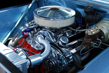 classic car engine