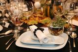 Fototapety Table setting for thanksgiving dinner
