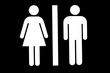 Woman/Man Toilet Sign