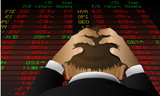 Stock exchange despair poster