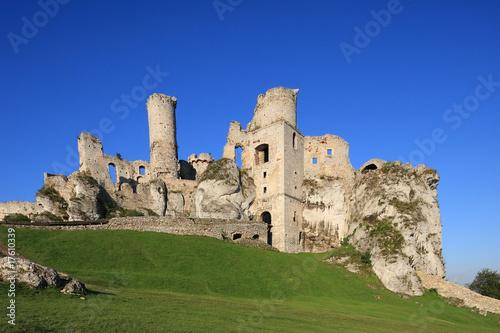 Zamek w Ogrodzieńcu - ruiny
