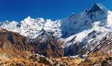 Annapurna base camp, Nepal poster