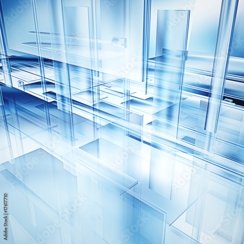 Fototapeta hi-tech glass