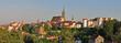 Bautzen Altstadtansicht im Abendlicht