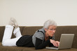 Senior Woman On A Laptop - 9